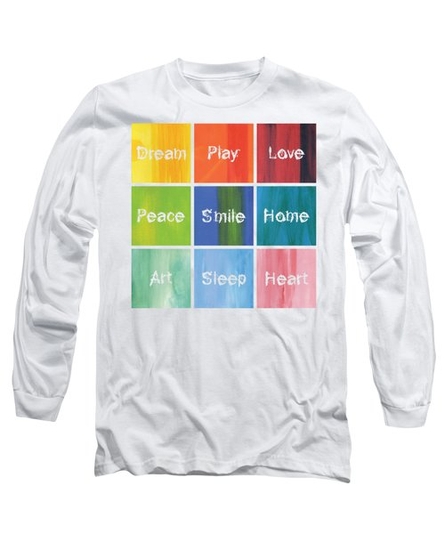 Happy 9 In 1 Long Sleeve T-Shirt