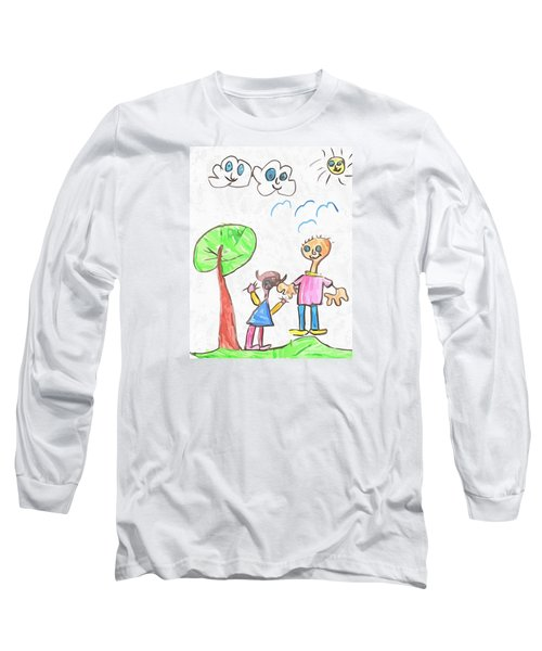 Happy Faces Long Sleeve T-Shirt
