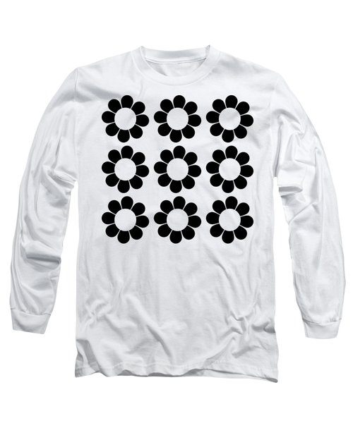Happy Flower Group  Long Sleeve T-Shirt