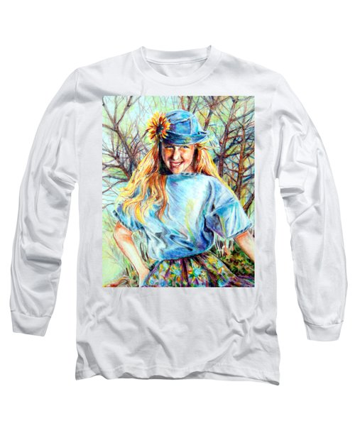 Happy Girl Long Sleeve T-Shirt