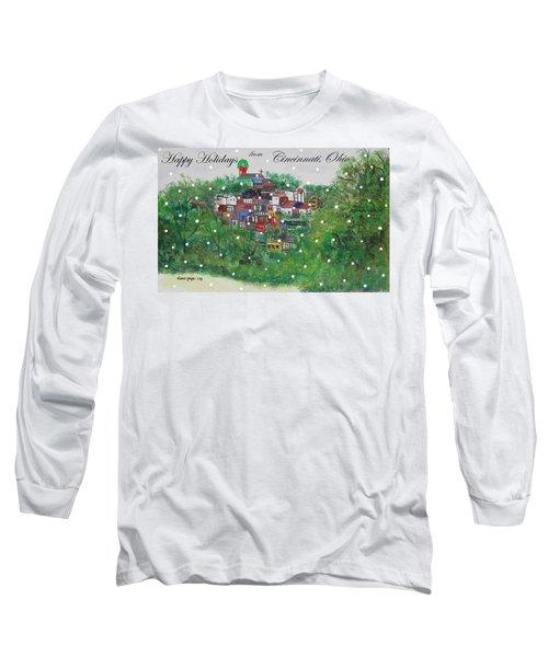Happy Holidays From Cincinnati Ohio Long Sleeve T-Shirt