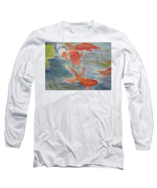 Happy Koi Long Sleeve T-Shirt