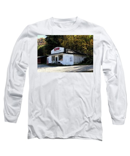Happy Motoring Long Sleeve T-Shirt by Dale R Carlson