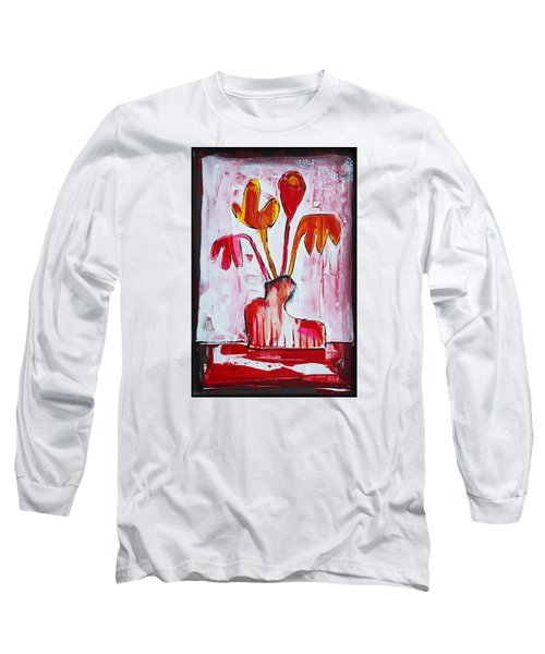 Happy Poppy Long Sleeve T-Shirt