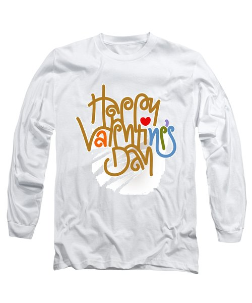 Happy Valentine's Day Poster Long Sleeve T-Shirt