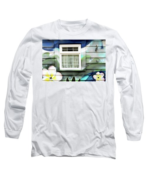 Happy Window Long Sleeve T-Shirt