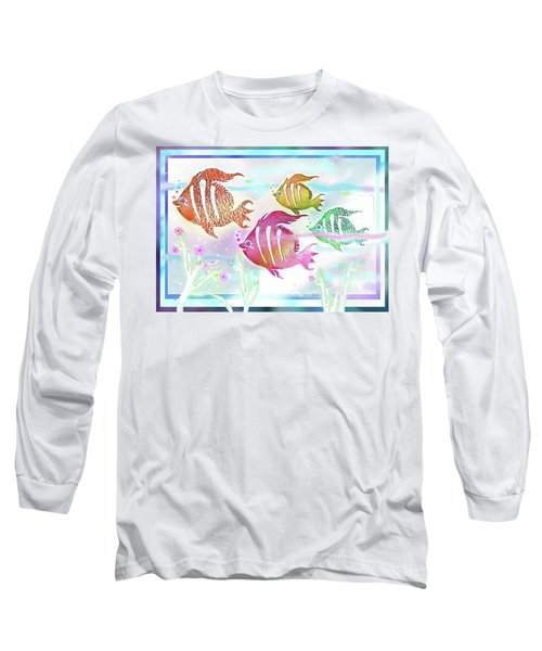 Happiness Is A Clean Ocean  Long Sleeve T-Shirt