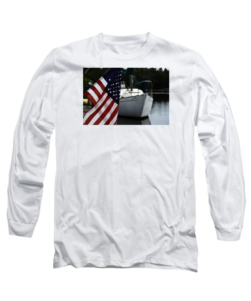 Harbor Long Sleeve T-Shirt by Allen Beilschmidt