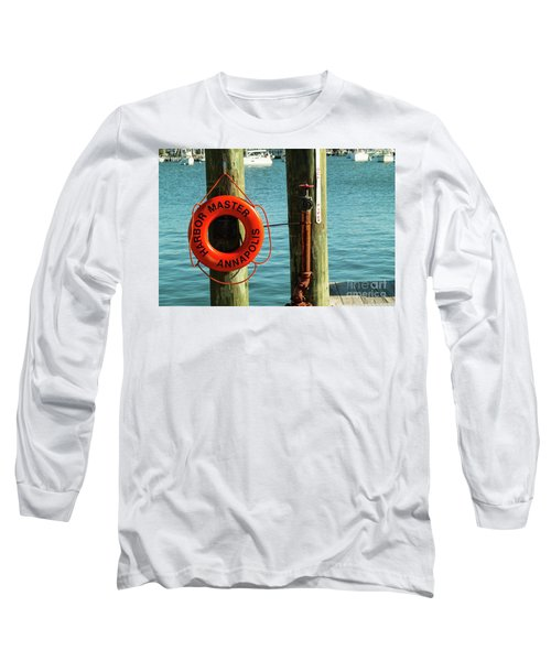 Harbor Life Preserver Long Sleeve T-Shirt