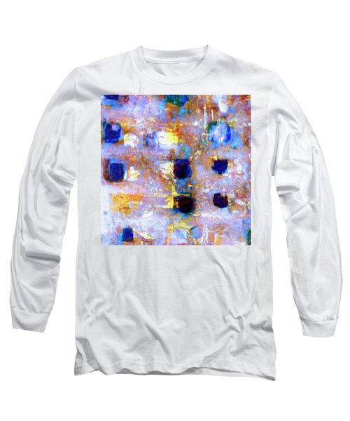 Long Sleeve T-Shirt featuring the painting Hard Eight by Dominic Piperata