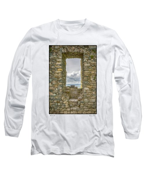 Harlech Cloud Long Sleeve T-Shirt by R Thomas Berner
