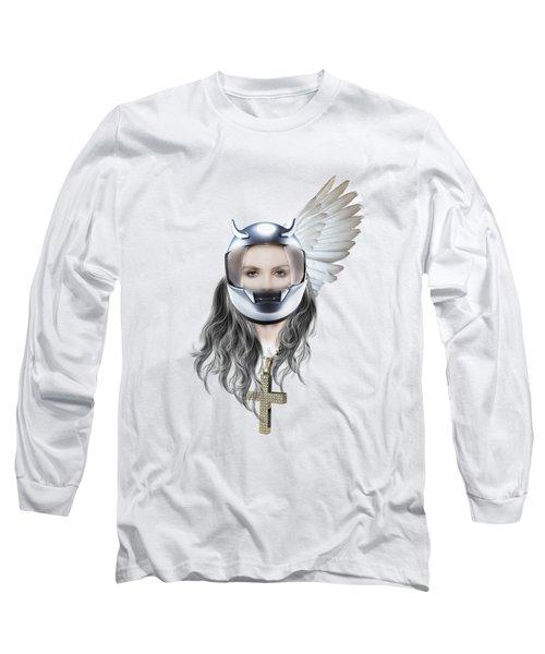 Harley Davidson Woman Long Sleeve T-Shirt