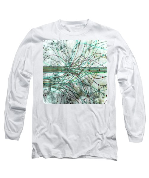 Long Sleeve T-Shirt featuring the digital art Harnessing Energy 3 by Angelina Vick