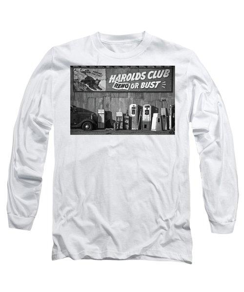 Harold's Club Long Sleeve T-Shirt