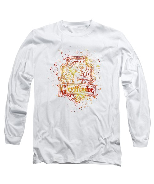 Harry Potter Gryffindor House Silhouette Long Sleeve T-Shirt