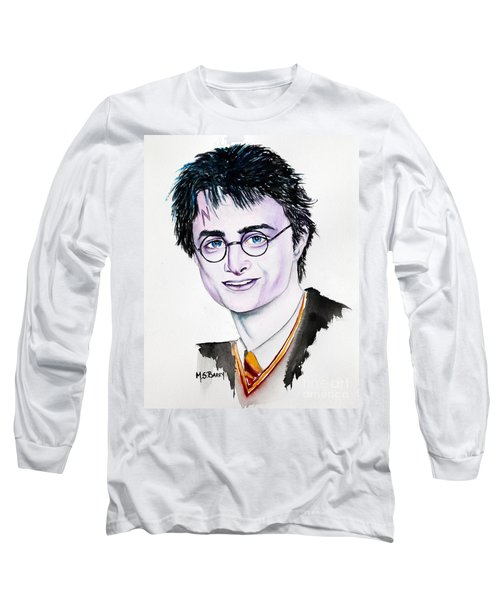 Harry Potter Long Sleeve T-Shirt by Maria Barry