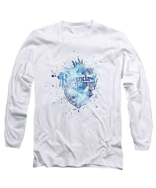 Harry Potter Ravenclaw House Silhouette Long Sleeve T-Shirt