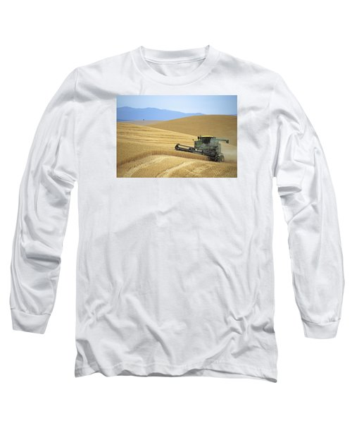 Harvest And Moscow Mountain Long Sleeve T-Shirt