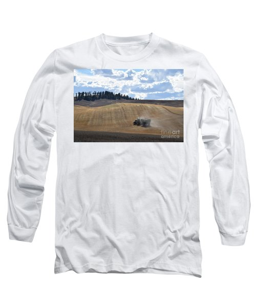 Hauling The Harvest From The Fields. Long Sleeve T-Shirt