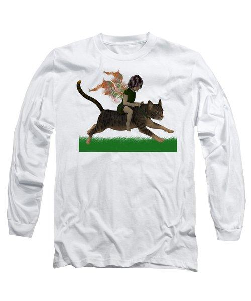 Having Fun Long Sleeve T-Shirt by Nancy Pauling