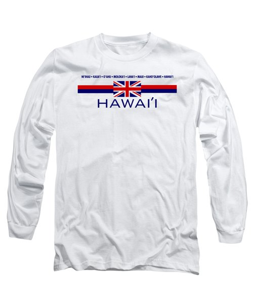 Hawai'i Long Sleeve T-Shirt by Jim Pavelle
