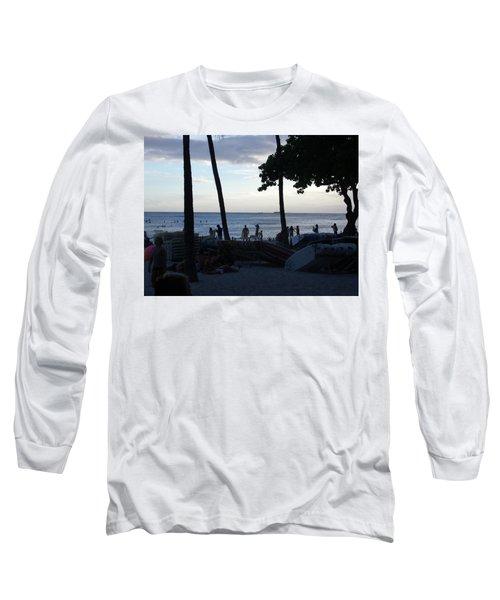 Hawaiian Afternoon Long Sleeve T-Shirt