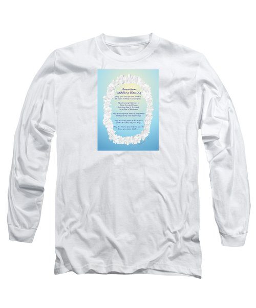 Hawaiian Wedding Blessing Long Sleeve T-Shirt
