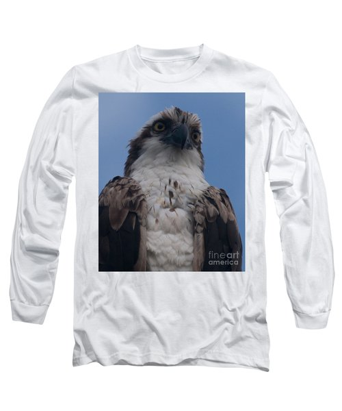 Hawk Stare Long Sleeve T-Shirt