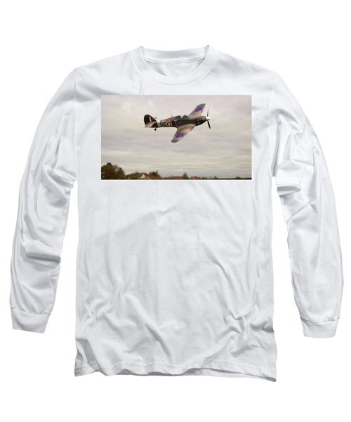 Hawker Hurricane -2 Long Sleeve T-Shirt by Paul Gulliver