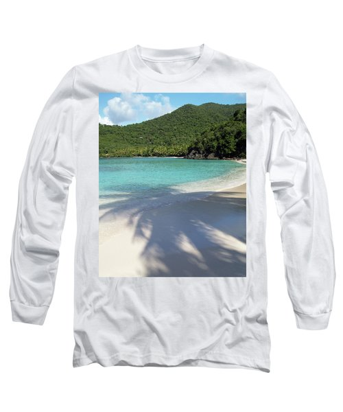 Hawksnest Bay And Gibney Beach Long Sleeve T-Shirt