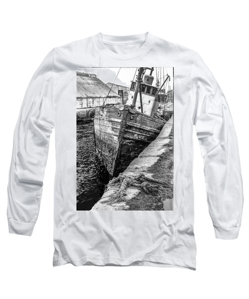 Hawser Not Needed Long Sleeve T-Shirt by Jeffrey Jensen