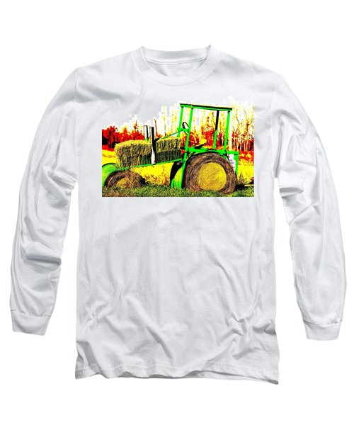 Hay It's A Tractor Long Sleeve T-Shirt