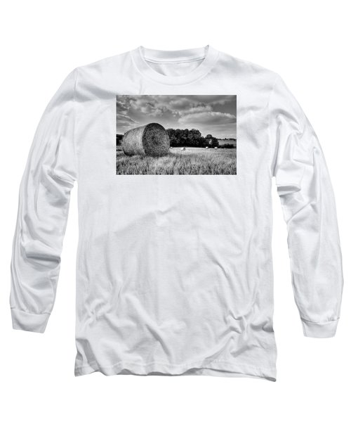 Hay Race Track Long Sleeve T-Shirt by Jeremy Lavender Photography