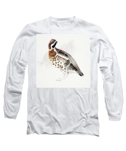 Hazel Grouse Long Sleeve T-Shirt