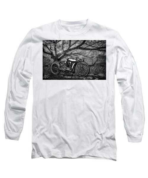 Long Sleeve T-Shirt featuring the photograph Hd Cafe Racer  by Louis Ferreira