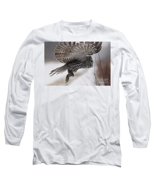 Long Sleeve T-Shirt featuring the photograph Heading Home With The Booty by Larry Ricker