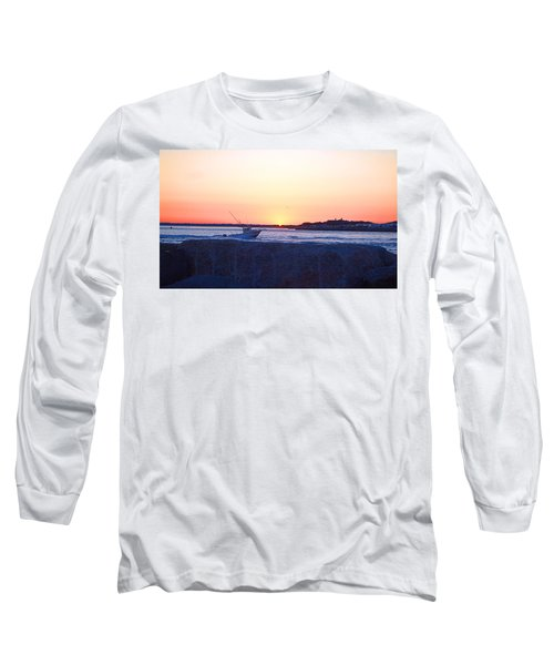 Long Sleeve T-Shirt featuring the photograph Heading Out by  Newwwman