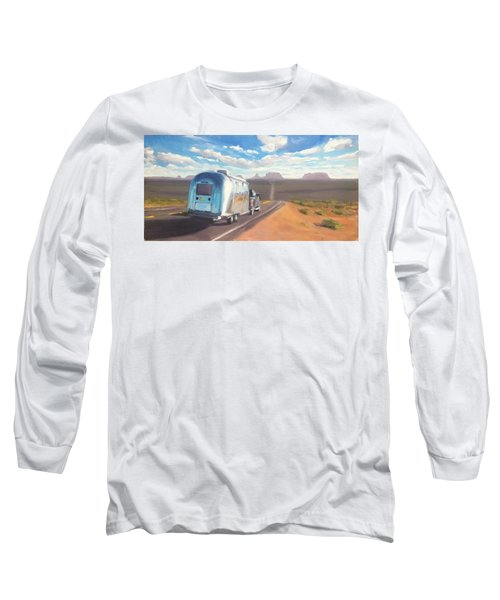 Heading South Towards Monument Valley Long Sleeve T-Shirt