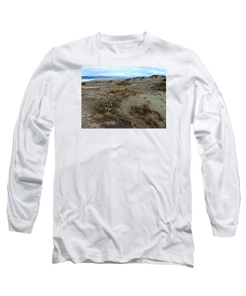Headlands Mackerricher State Beach Long Sleeve T-Shirt by Amelia Racca