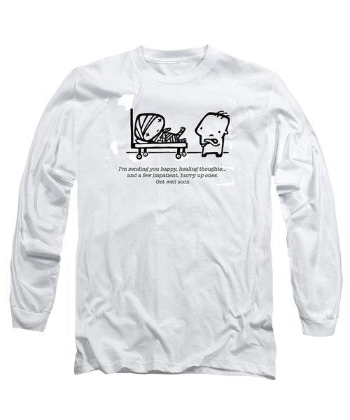 Healing Thoughts Long Sleeve T-Shirt