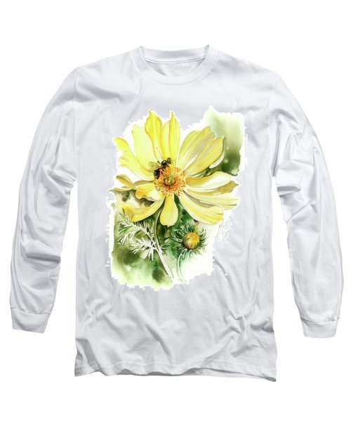 Long Sleeve T-Shirt featuring the painting Healing Your Heart by Anna Ewa Miarczynska
