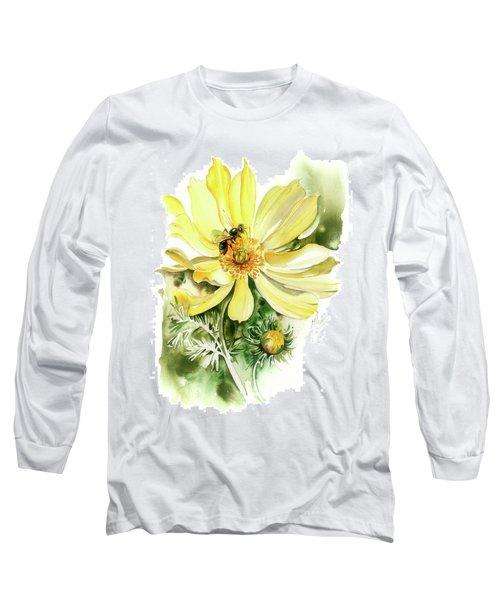 Healing Your Heart Long Sleeve T-Shirt by Anna Ewa Miarczynska