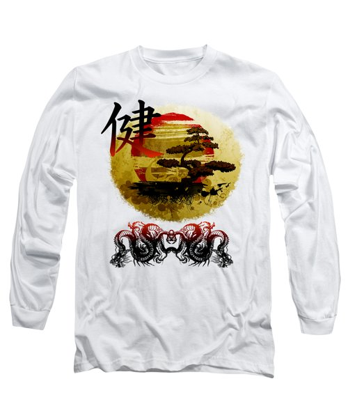 Health Oriental Symbol Long Sleeve T-Shirt