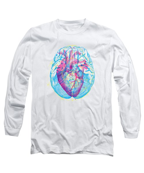 Heart Brain Long Sleeve T-Shirt