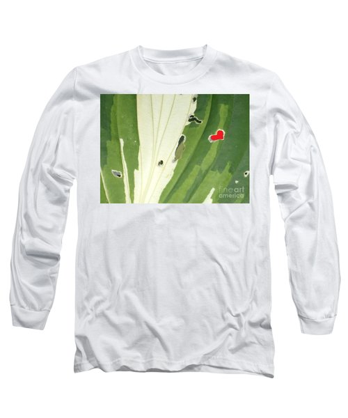 Heart In Nature Long Sleeve T-Shirt