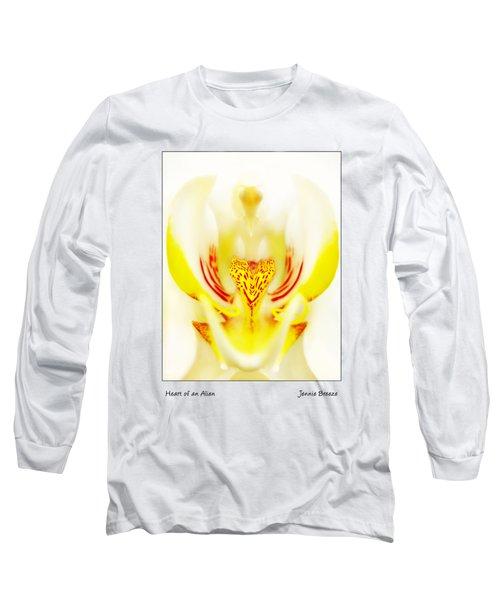 Heart Of An Alien Long Sleeve T-Shirt