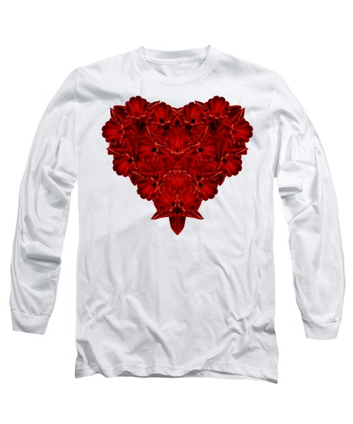 Heart Of Flowers T-shirt Long Sleeve T-Shirt