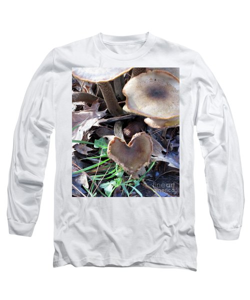 Long Sleeve T-Shirt featuring the photograph Heart Of The Matter Smaller Pic by Marie Neder