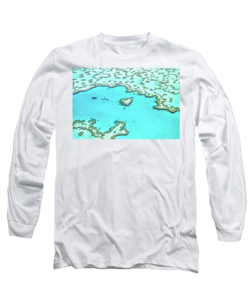 Heart Of The Reef Long Sleeve T-Shirt by Az Jackson
