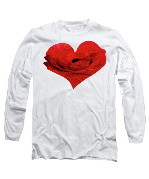 Heart Sketch Long Sleeve T-Shirt